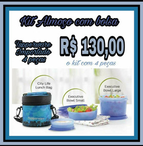 Kit Almoço Com Bolsa Tupperware