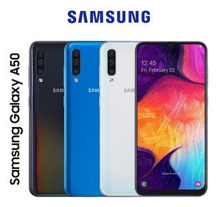 Samsung A50 «240vrd» +4ram +vidrio+forro