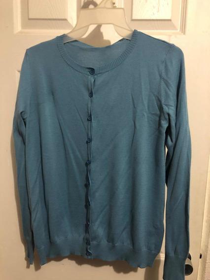 Suéter Chico Azul United Colors Of Benetton Cuello Redondo