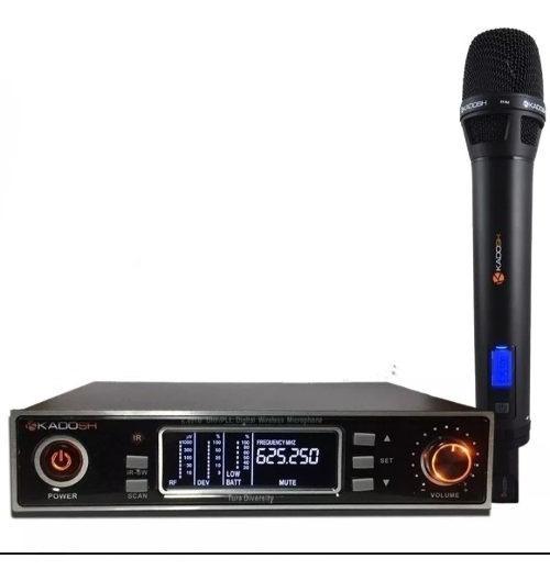 Microfone Kadosh 901m Digital Tipo Sennheiser Xsw Shure Sm58