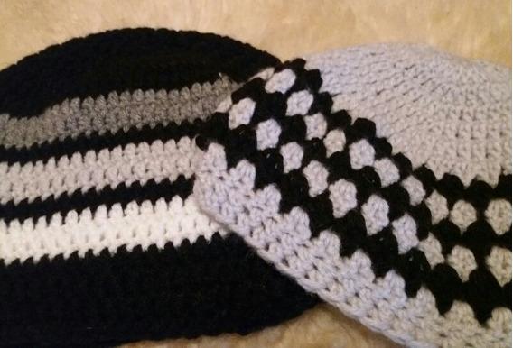 Gorros Tejidos Crochet Lana