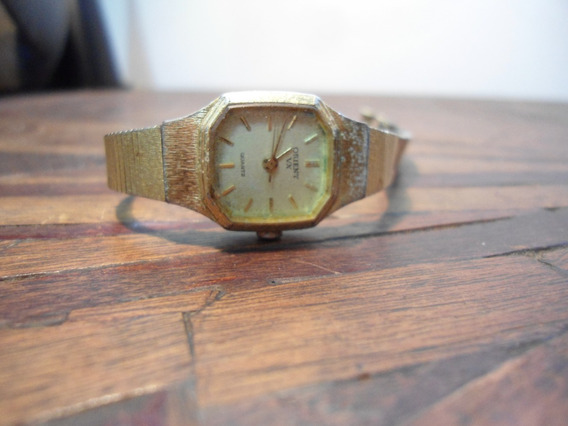 Antigo Relógio Feminino Orient - E-45822-40bj - Para Reparo
