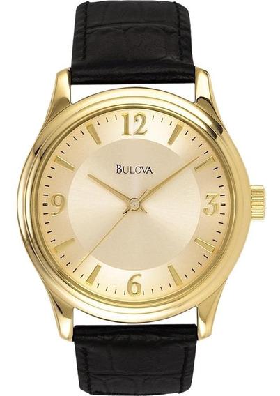 Reloj Bulova Corporate Para Hombre 97a70 Piel Envio Gratis