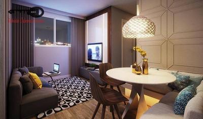 Apartamento Com 1 Dormitório À Venda, 26 M² Por R$ 152.000 - Brás - São Paulo/sp - Ap0047