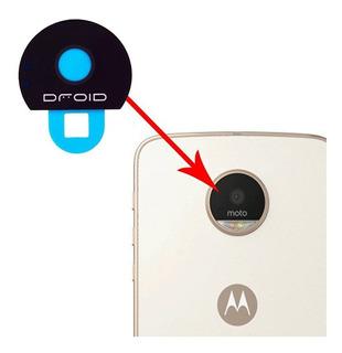 Vidrio Mica Repuesto Motorola Moto Z Z Play Camara Trasera