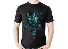 Camiseta Alien Camisa Terror Horror Predador
