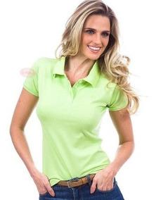 7 Blusas Feminina Camisas Polo Uniforme Roupa Para Trabalho