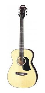 Guitarra Acustica Folk Sin Corte Aria Af20 Color Natural