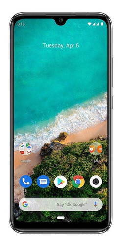 Celular Smartphone Xiaomi Mi A3 64gb Azul - Dual Chip
