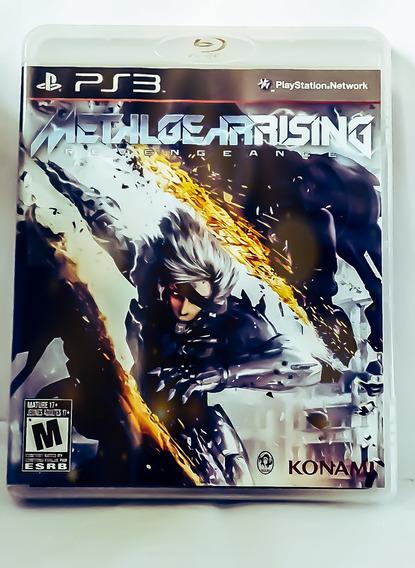 Metal Gear Rising Revengeance Edição Única Ps3