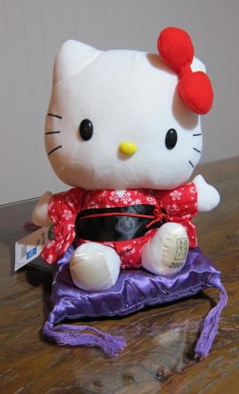 Pelúcia Hello Kitty De Kimono 2009 Do Japão!!!