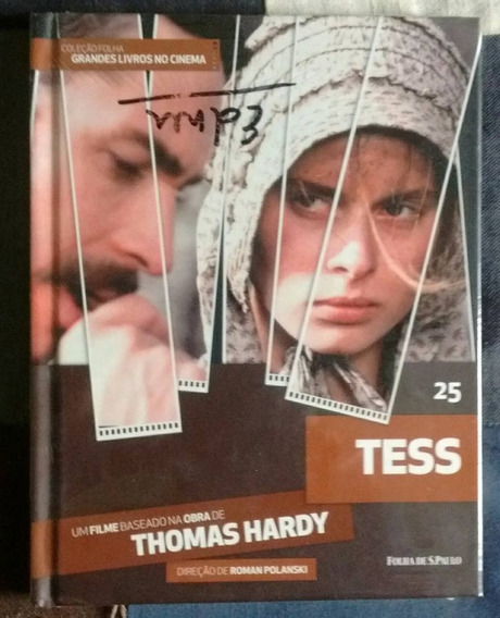 Dvd Tess Coleção Folha 25 - Novo!