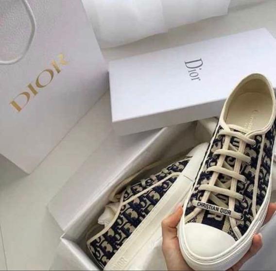 Tênis Walkn D.i.o.r Monogram Sneaker Premium