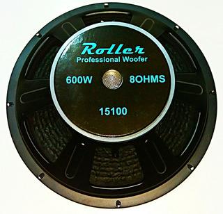 Parlante Woofer 15 Pulgadas 1200w Roller