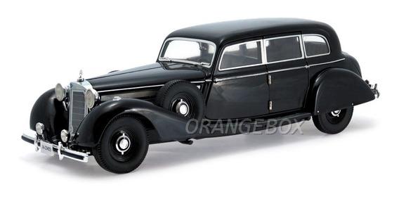 Mercedes 770k 1938 Signature Models 1:18 Preto 18129-preto