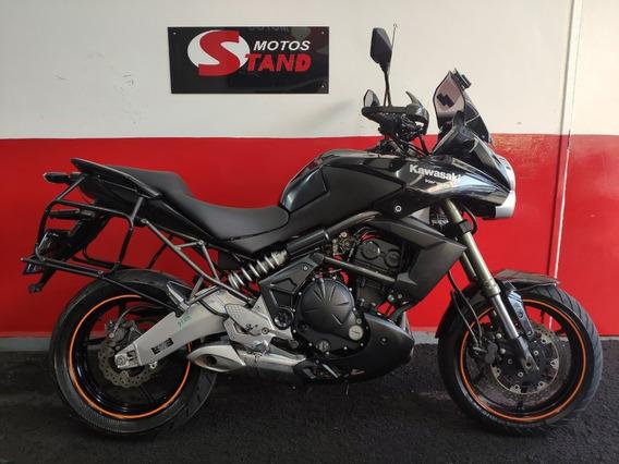 Kawasaki Versys 650 Tourer 2011 Preta Preto