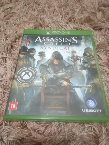Assassins Creed Syndicate Xbox One Mídia Fisica