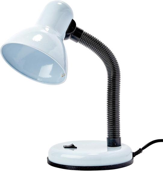 Luminária De Mesa Versaty Branco E27 34cm