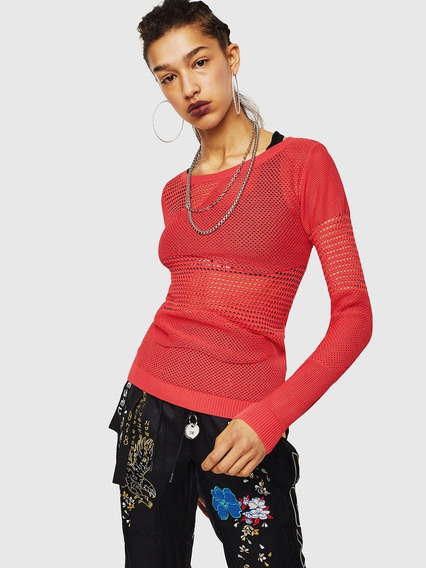 Diesel Sweater Mujer Calado M-lucy 00s2v20saue