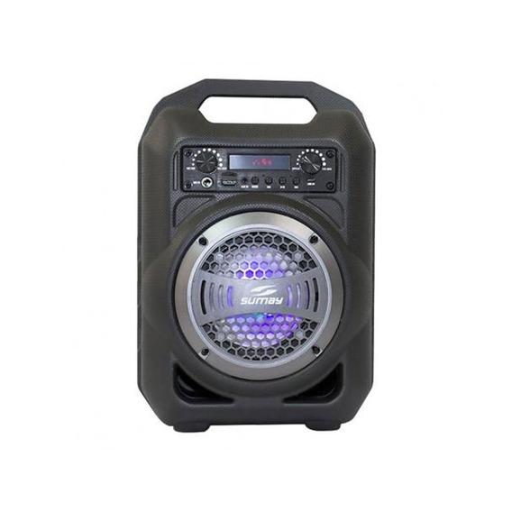 Caixa De Som Sumay 30w Usb Sm-csp1302 Bluetooh Gallon Music