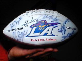 Balon De Futbol Americano Firmado