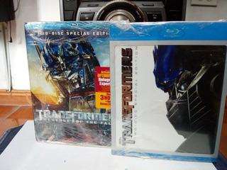 1ra Y 2da Películas De Transformers Blu-ray Originales