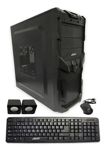 Gabinete Kit Pc Gamer Brb Atx 550w Teclado Mouse Parlantes