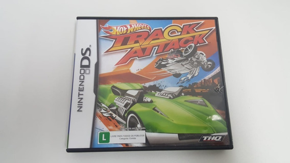 Hot Wheels Track Attack - Nintendo Ds - Original