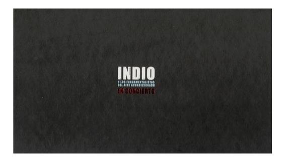 Solari Indio En Concierto Cd X 2 + Dvd X 2 Nuevo