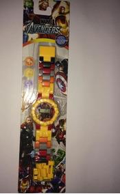 Relógio Pulso Infantil Lego Homem De Ferro