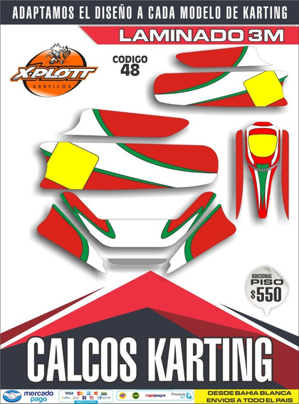 Kit Calcos Karting