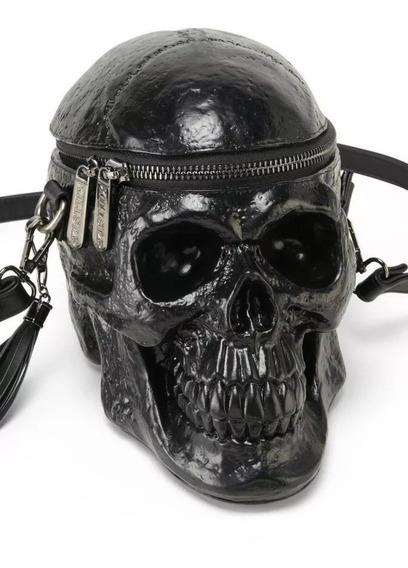 Cartera Killstar Skull. Calavera. Cráneo. Importada