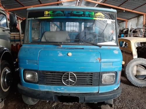 Sucata Mercedes Benz 608