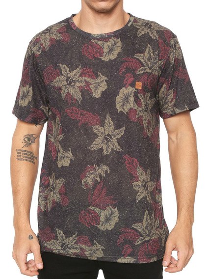 Camiseta Lost Masculina Cannabis Verde
