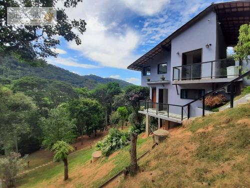 Casa Com 4 Dormitórios À Venda Por R$ 1.790.000 - Secretário - Petrópolis/rj - Ca0401