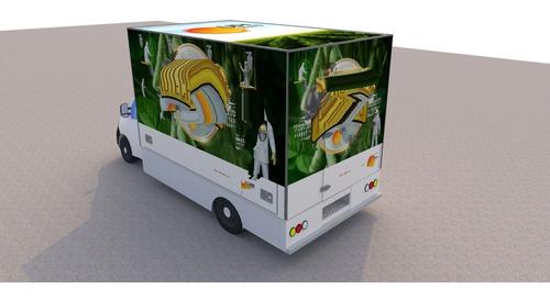 Imagem 1 de 5 de Baú Para Food Truck - Renault Master