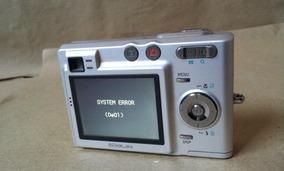 Camera Casio Slim Ex Z30 Digital Antiga Defeituosa P/reparos