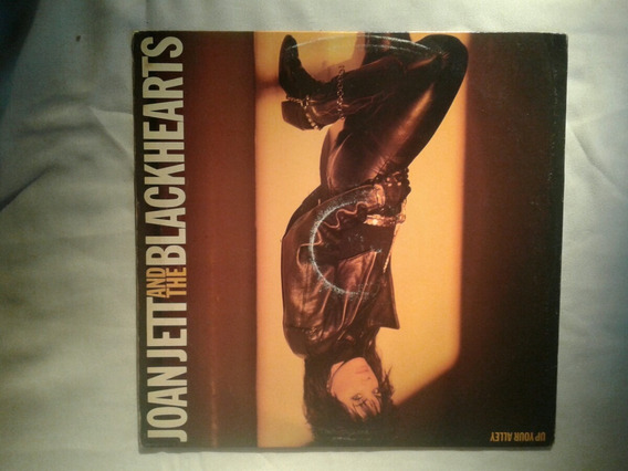 Lp Joan Jett & The Blackhearts Up Your Alley Vinilo Usa