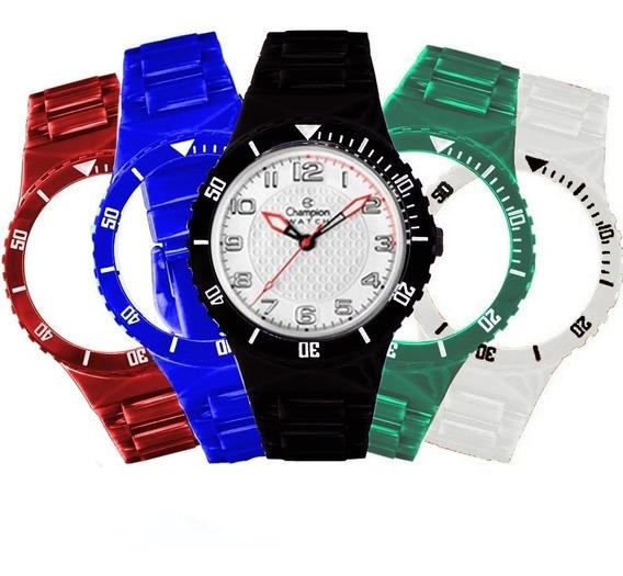 Relógio Unissex Champion Troca Pulseiras Cp38086x