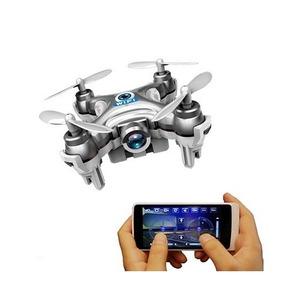 Micro Mini Drone C Camera Hd Ao Vivo Cheerson Fpv Wifi Cx10w