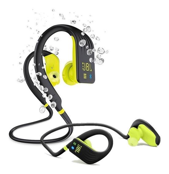 Fone De Ouvido Jbl Endurance Dive Bluetooth Preto/verde 1 Gb