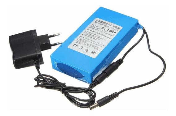 Bateria Recarregável De Litio 12v 9800mah