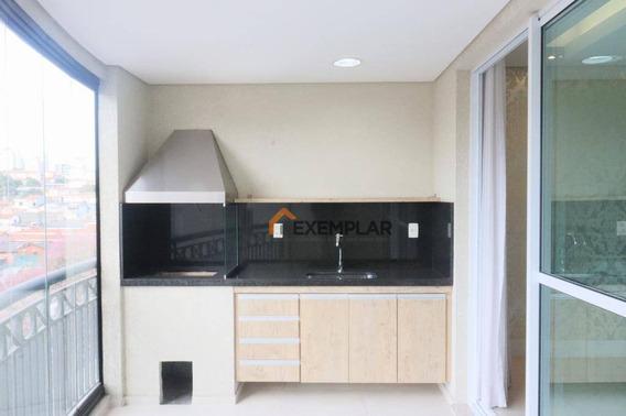 Apartamento Com 3 Dormitórios À Venda, 130 M² Por R$ 1.150.000,00 - Santa Terezinha - São Paulo/sp - Ap1414
