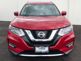 Nissan X-trail Exclusive Cvt Piel Cd 5 Pas. Ra-19 Rojo 2018