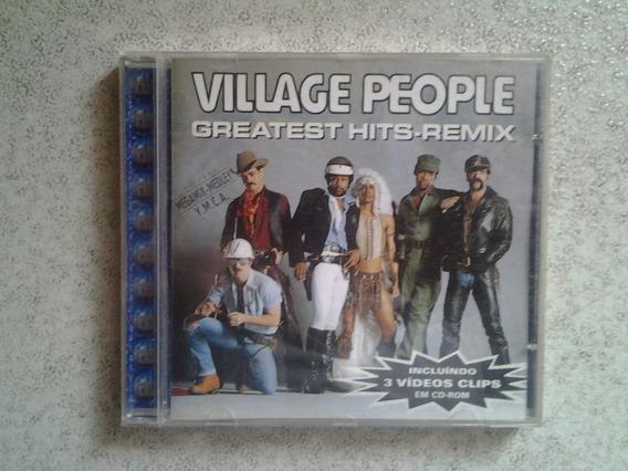 Cd Village People - Gretaest Hits Remix