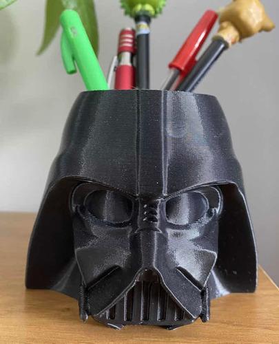 Porta Lápices Darth Vader. Mundo Impresiones 3d