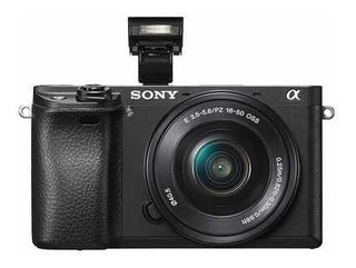 Sony Ilce A6300 Kit Camara Profesional Aps-c Montura 16-50mm