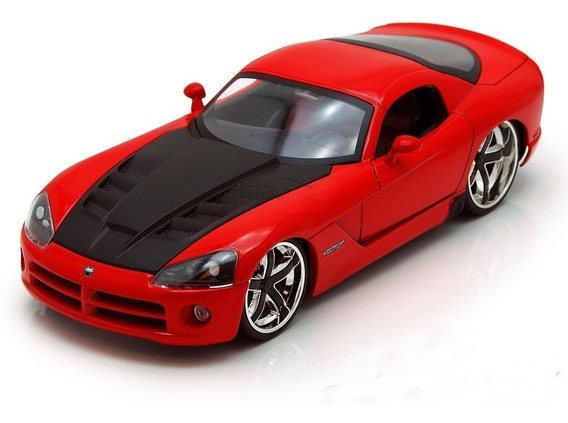 Miniatura Dodge Viper Srt10 Vm Big Time Muscle Car 1/24 Jada