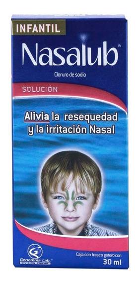 Nasalub Humectante Nasal Solución Infantil 30 Ml Genomma Lab