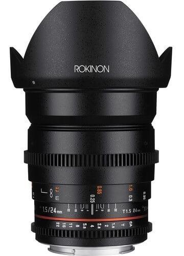 Lente Rokinon 24mm T1.5 Cine Ds M4/3 (ds24-mft)